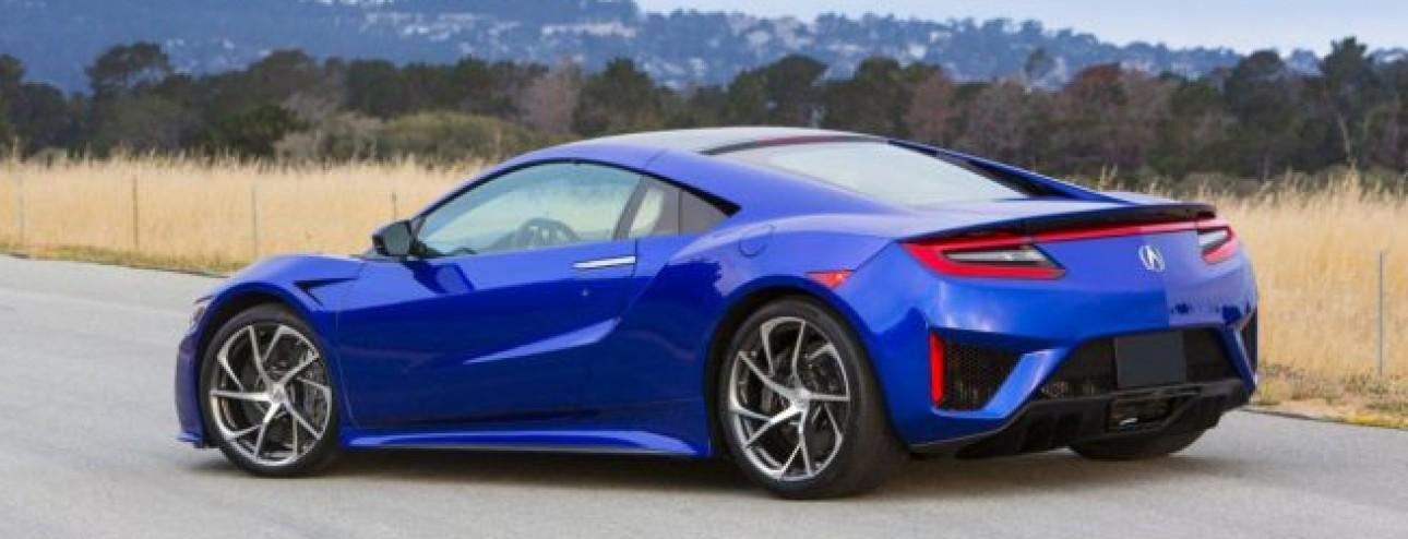 Honda Acura NSX: alla Monterey Car Week tre esemplari in veste definitiva.