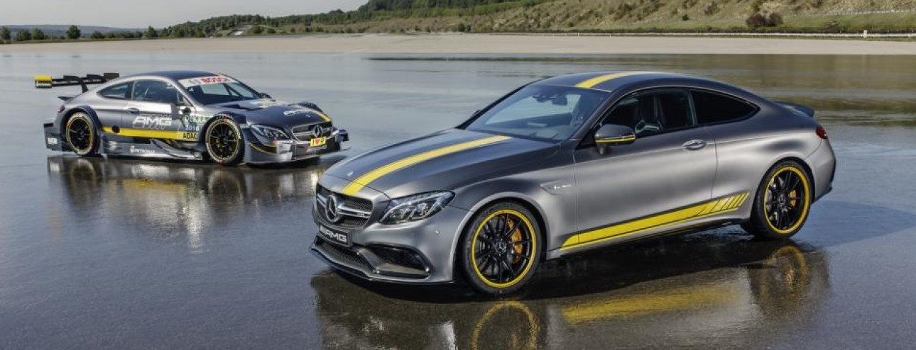 Mercedes-Benz C 63 Coup� Edition 1 al Salone di Francoforte 2015.